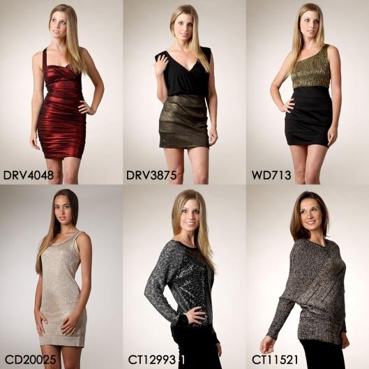 Shimmer and Shine, metallic dresses, shimmer dresses, shimmer sweaters